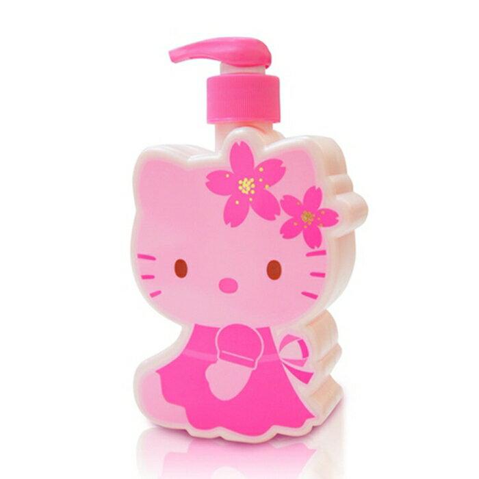 ☆Hello Kitty☆ 凱蒂貓 櫻花玻尿酸造型SPA時尚禮盒(1造型沐浴/1造型洗髮/3香氛皂 1