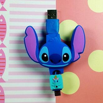 迪士尼系列--充電線 史迪奇
