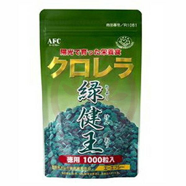 AFC宇勝淺山 綠健王-綠藻錠狀食品(1000粒/包)