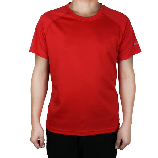 Short Sleeve Tee Clothes Reflective Stretchy Basketball Sports T-shirt Red XL 38028a7e7569a43777bb4f57018508ca
