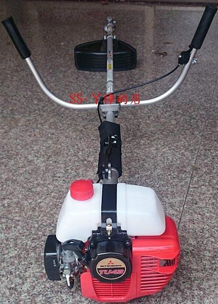 日本三菱品牌 TU43 割草機 請認明油桶在上 (故障率較低) KAAZ日本製彎頭-全配(含稅價)