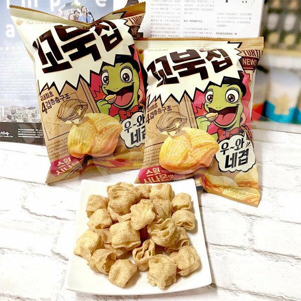 韓國海太Haitai烏龜餅乾美式甜肉桂風味做出4層口感【特價】§異國精品§