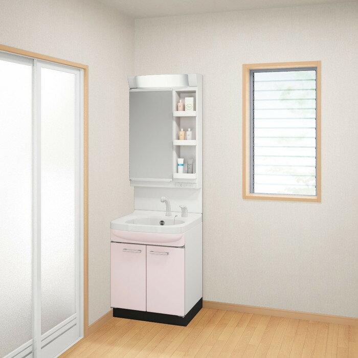 【現貨1】日本衛浴用水材-Takara Standard 琺瑯洗面化妝台【WSS60SP】櫻花粉