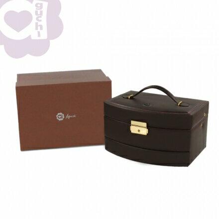 【Aguchi 亞古奇】皇家風範-貴族棕 (氣質貴族系列) 珠寶盒 2