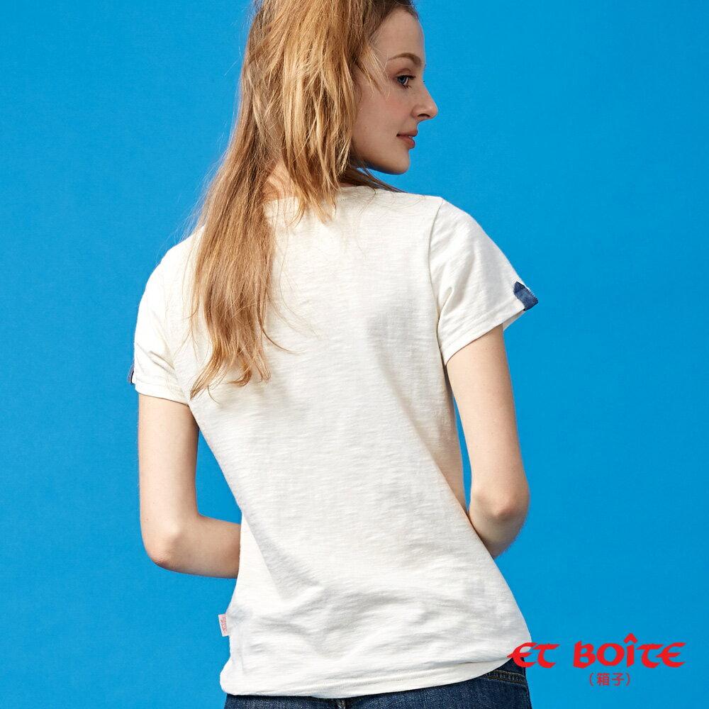 【夏日音樂派對】Et Amour電音Keyboard喵娃短袖T恤(米色) - BLUE WAY  ET BOiTE 箱子 2