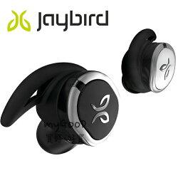 [真。無線、快充 5 分鐘續用 1 小時] Jaybird RUN 藍牙運動耳機-黑銀兩色 雙層納米塗層機身防水防汗更進階