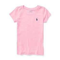 美國百分百【Ralph Lauren】圓領 T恤 RL 短袖 T-shirt Polo 素面 小馬 灰色 女 I397