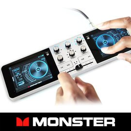 <br/><br/>  【Monster魔聲 GODJ數位控制器】DJ系統/混音器/效果器 EDM 可搭配iPhone6/6Plus / iPod / X1 / X3 / X5播放器使用【風雅小舖】<br/><br/>
