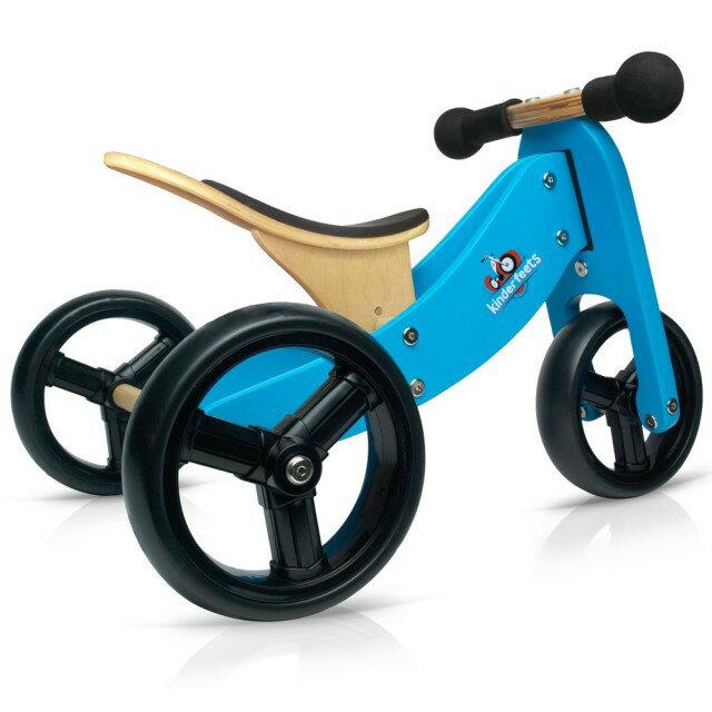 美國【Kinderfeets】木製平衡滑步車/教具車-初心者三輪系列(4色) 3