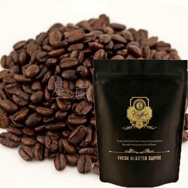 【星嵐咖啡】頂級黃金曼特寧咖啡豆 半磅(225g)