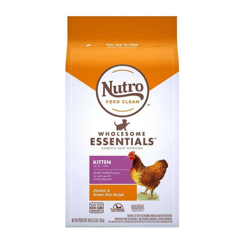 《Nutro美士》全護營養系列-特級幼母貓配方(雞肉+糙米)-3LB  /  貓飼料 樂天雙11 1