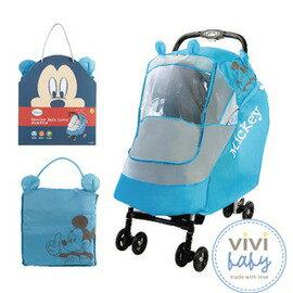 ViViBaby - Disney迪士尼米奇防風/防雨罩 (藍) 0