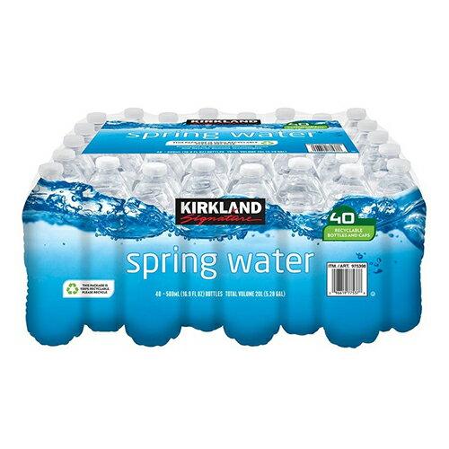 【現貨】Kirkland Signature 科克蘭 泉水 500毫升 X 40瓶