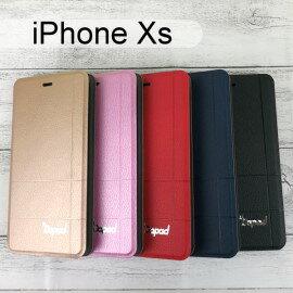 【Dapad】經典隱扣皮套iPhoneXs(5.8吋)