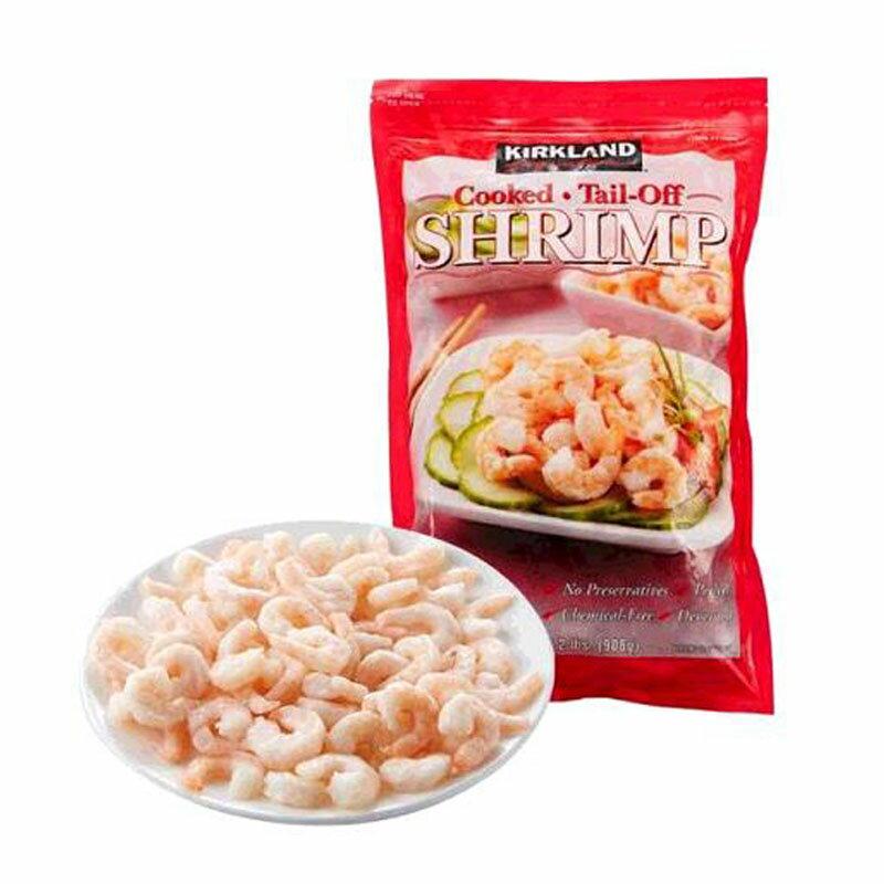 [COSCO代購] WC777004 科克蘭 冷凍去頭去殼去尾養殖熟蝦仁 908公克 - 90-110隻/磅