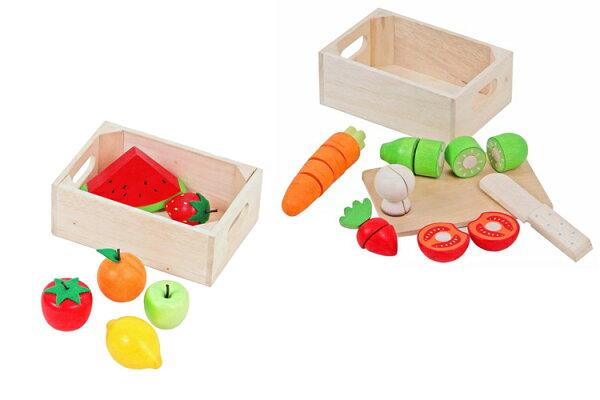 Mentari木製玩具-小寶貝的青菜水果