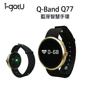 【情人節精選】【PC-BOX】 i-gotU Q-Watch HR 藍牙腕式心率智慧健身手錶 - Q-77HR (42mm) Q77HR