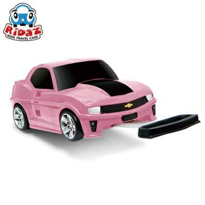※Ridaz 兒童跑車行李箱 Chevrolet Camaro ZL1大黃蜂(粉色)