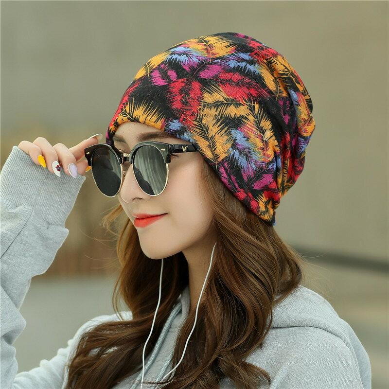帽子女潮春夏季薄款包頭帽女套頭帽時尚月子帽透氣睡帽頭巾堆堆帽