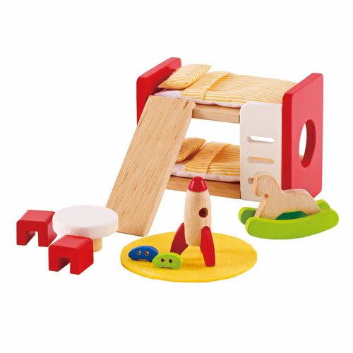 東喬精品百貨商城:【免運費】《德國Hape愛傑卡》角色扮演娃娃屋系列-現代兒童房組合