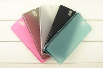 ☆Sony Xperia C5 Ultra 彩色布丁套 SONY E5553 透明清水套 手機皮套 背蓋 布丁殼 6吋