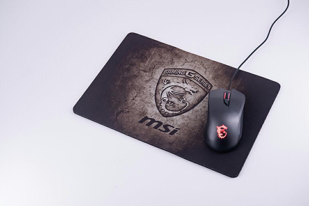 【全新品】【吃雞必備】微星 MSI GAMING Shield Mousepad 電競滑鼠墊 防滑 低摩擦 公司貨