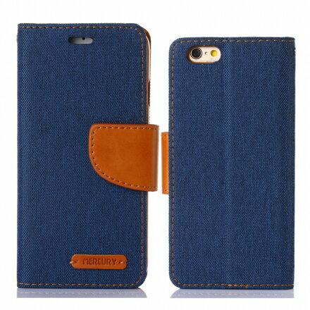 Mercury Samsug Note 5 韓風雙色牛仔紋 側掀磁扣支架式皮套 矽膠軟殼 綠藍桃色 4