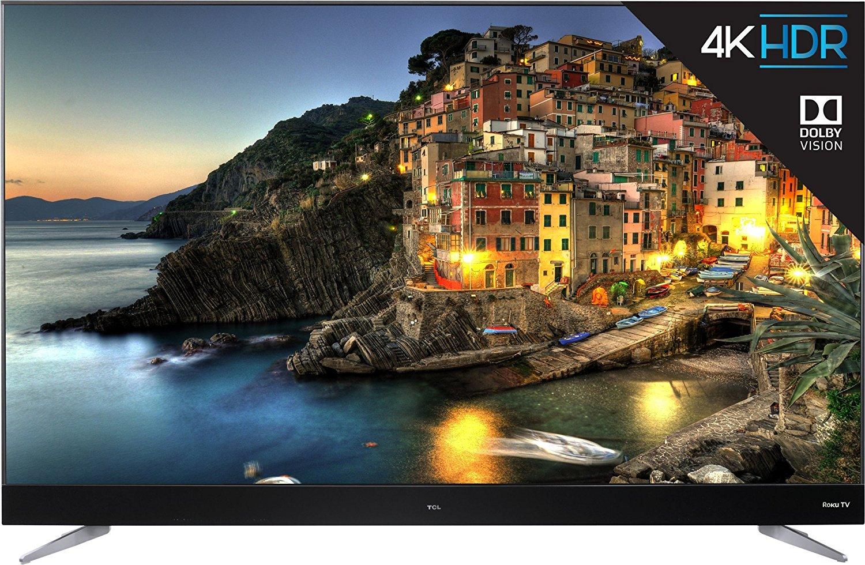 TCL 55C807 55-Inch 4K Ultra HD Roku Smart LED TV (2017 Model) 1