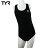 美國TYR女用連身三角黑色訓練款泳裝Solid Female Maxback JUNIOR 台灣總代理 - 限時優惠好康折扣