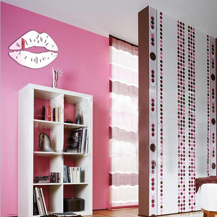 3D Lips Removable Decor Wall and Mirror Sticker 2