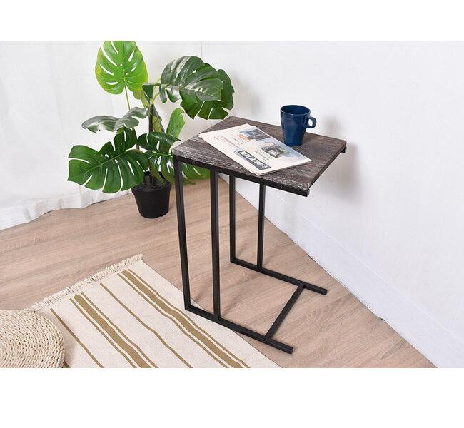 凱堡 桐木邊桌 實木邊桌 仿舊系列 小茶几沙發邊桌【H05070】 5