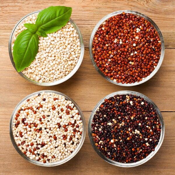 母親節回饋價南美養生藜麥粒(紅色黑色白色彩虹)500g20包超優惠2900平均1包145元