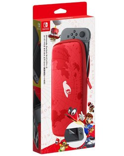 玉山最低比價網:[刷卡價]任天堂NintendoSwitchNS超級瑪利歐奧德賽主機收納包含螢幕保貼