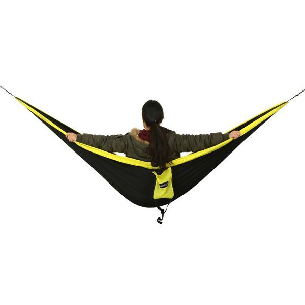 Camping DoubleNest Hammock with Metal Straps 2