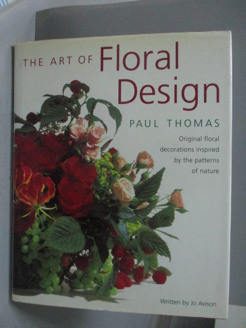 ~書寶 書T4/ _ZEH~The Art of Floral Design_Paul T