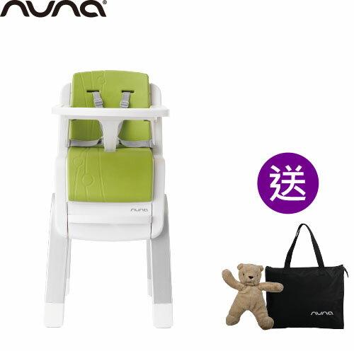 【出清$8280再贈收納袋+玩偶(隨機)】荷蘭【Nuna】ZAAZ 高腳椅(蘋果綠)