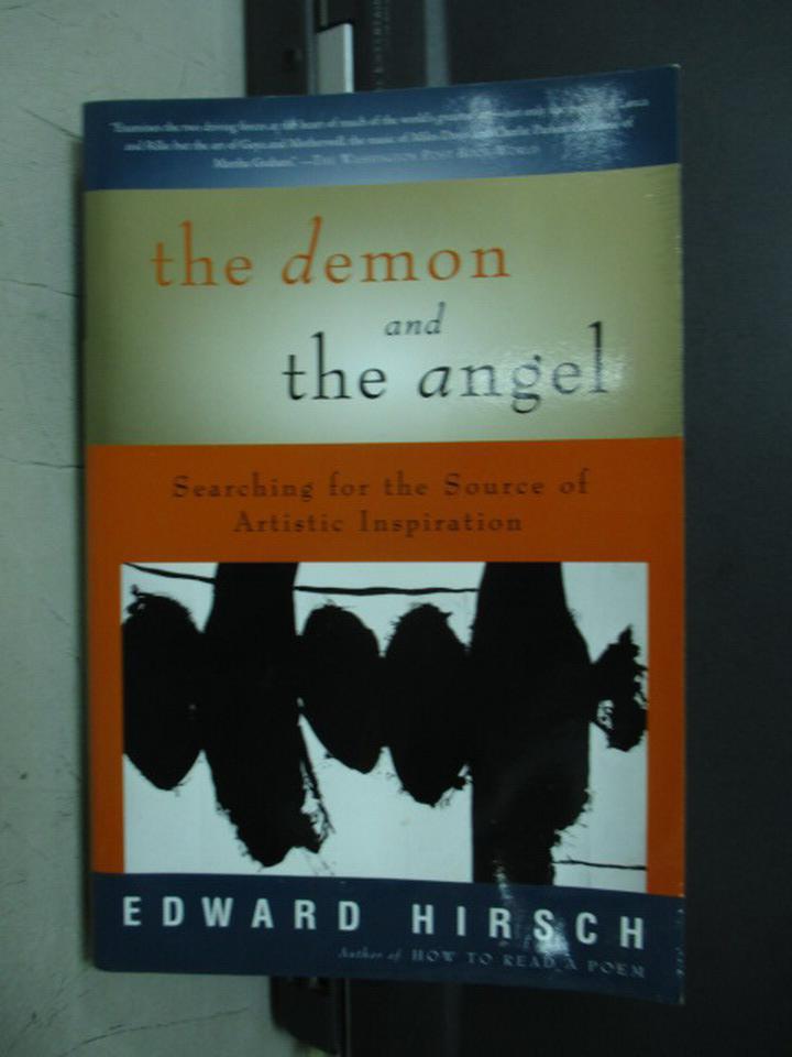 【書寶二手書T4/原文小說_NON】The demon and the angel_Edward hirsch