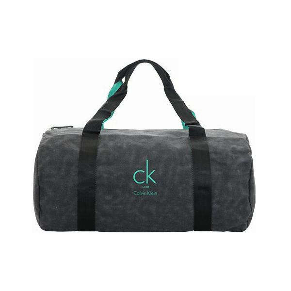 CK 時尚旅行包/旅行袋/帆布旅行袋 (黑綠) ☆真愛香水★