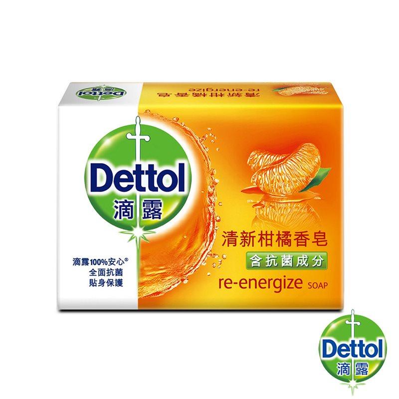 滴露品牌香皂(100g x3 / 五入) 清新柑橘 經典松木 滋潤倍護 香皂 沐浴 洗身體 護膚