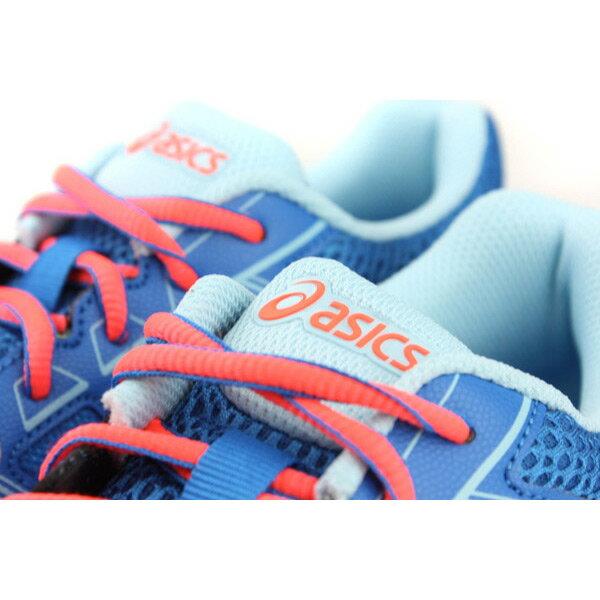 亞瑟士 ASICS GEL-CONTEND 4 GS 運動鞋 童鞋 藍色 大童 C707N-1406 no283 2