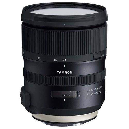 "Tamron A032 - 24 mm to 70 mm - f/2.8 - Standard Zoom Lens for Nikon F - Designed for Camera - 82 mm Attachment - 0.20x Magnification - 2.9x Optical Zoom - Optical IS - 4.3""Length - 3.5""Diameter 0"