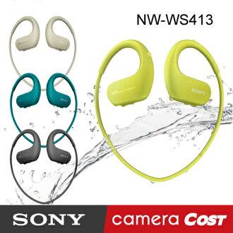 ★全新開賣★ SONY Walkman NW-WS413 4GB 防水數位耳機隨身聽 公司貨 新 W273S