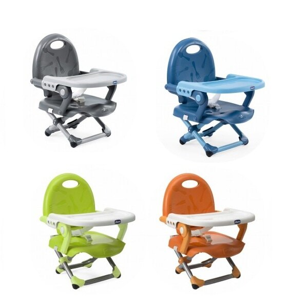 義大利 Chicco-Pocket攜帶式輕巧餐椅座墊/嬰兒餐椅( 4色可挑) 990元【美馨兒 】
