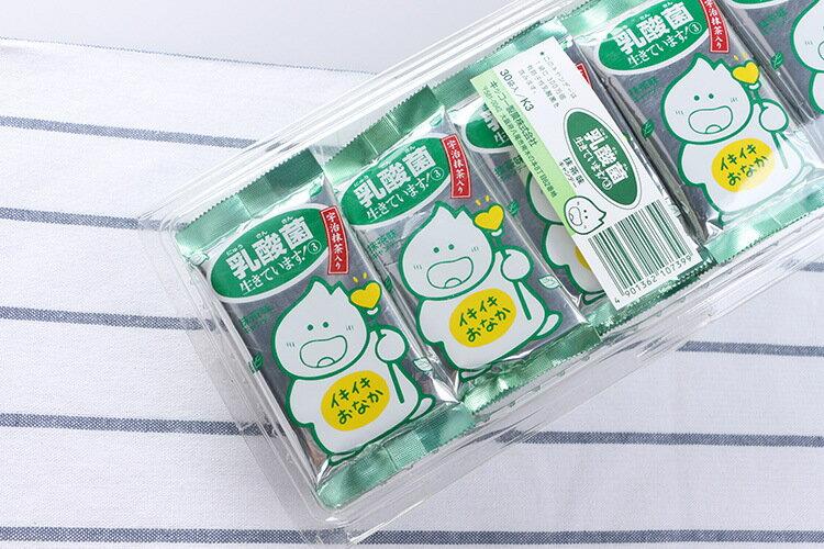 有樂町進口食品 3包特價$50元 KiKKO乳酸菌糖(抹茶)20g  另有整盒(30包)販售 只要$350元 4901362107399 2