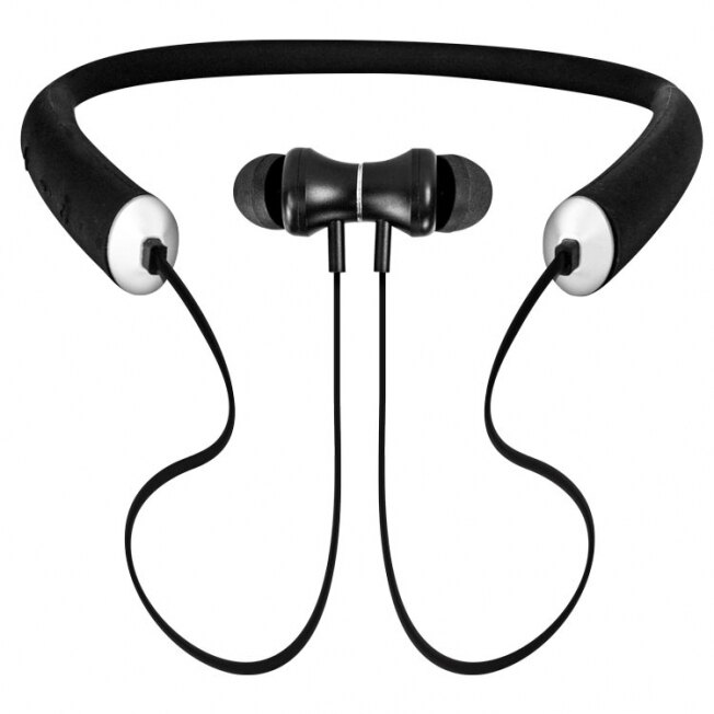 藍牙4.2 運動式吸磁頸掛藍芽耳機 BTE-3735 親膚特殊矽膠 NCC認證 磁吸 連續通話6小時 高音質 立體聲 頸掛式 運動藍芽耳機 無線 藍牙耳機/TIS購物館
