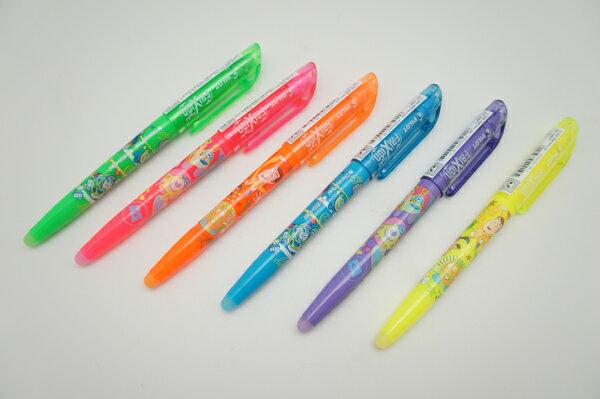 PILOT百樂迪士尼系列魔擦螢光筆6色套裝組限量上市加贈(驚喜包)