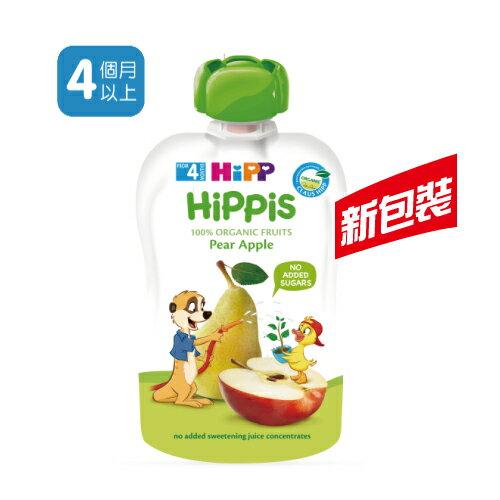 HiPP喜寶有機水果趣-西洋梨蘋果100g★衛立兒生活館★