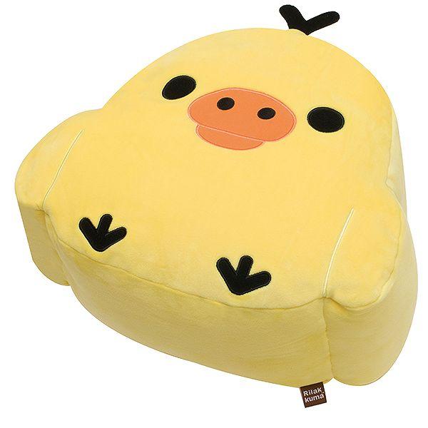 X射線【C668750】小雞頭型NEW抱枕,絨毛/填充玩偶/玩具/公仔/椅子/抱枕/靠枕/頸枕/靠墊/拉拉熊