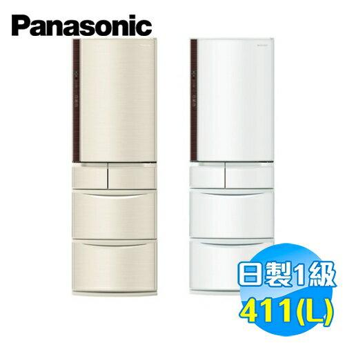 國際 Panasonic 日本製411公升五門變頻冰箱 NR-E412VT