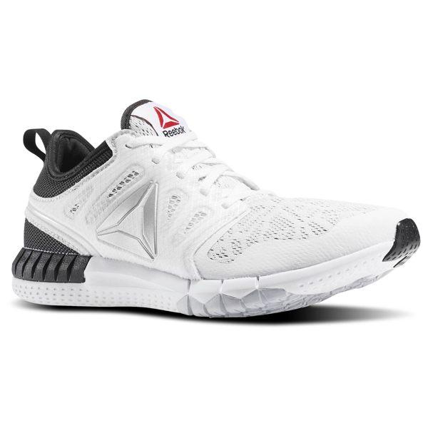 《限時特價↘7折免運》REEBOK ZPRINT 3D 女鞋 慢跑鞋 多功能鞋 網布透氣 白黑 熊貓【運動世界】 AR0663
